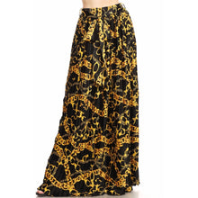 Load image into Gallery viewer, Unchain Me Black Maxi Skirt