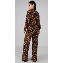 Load image into Gallery viewer, Fefe Pattern Jumpsuit