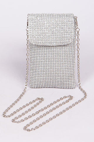 Jazz Silver Blinged Mini Bag