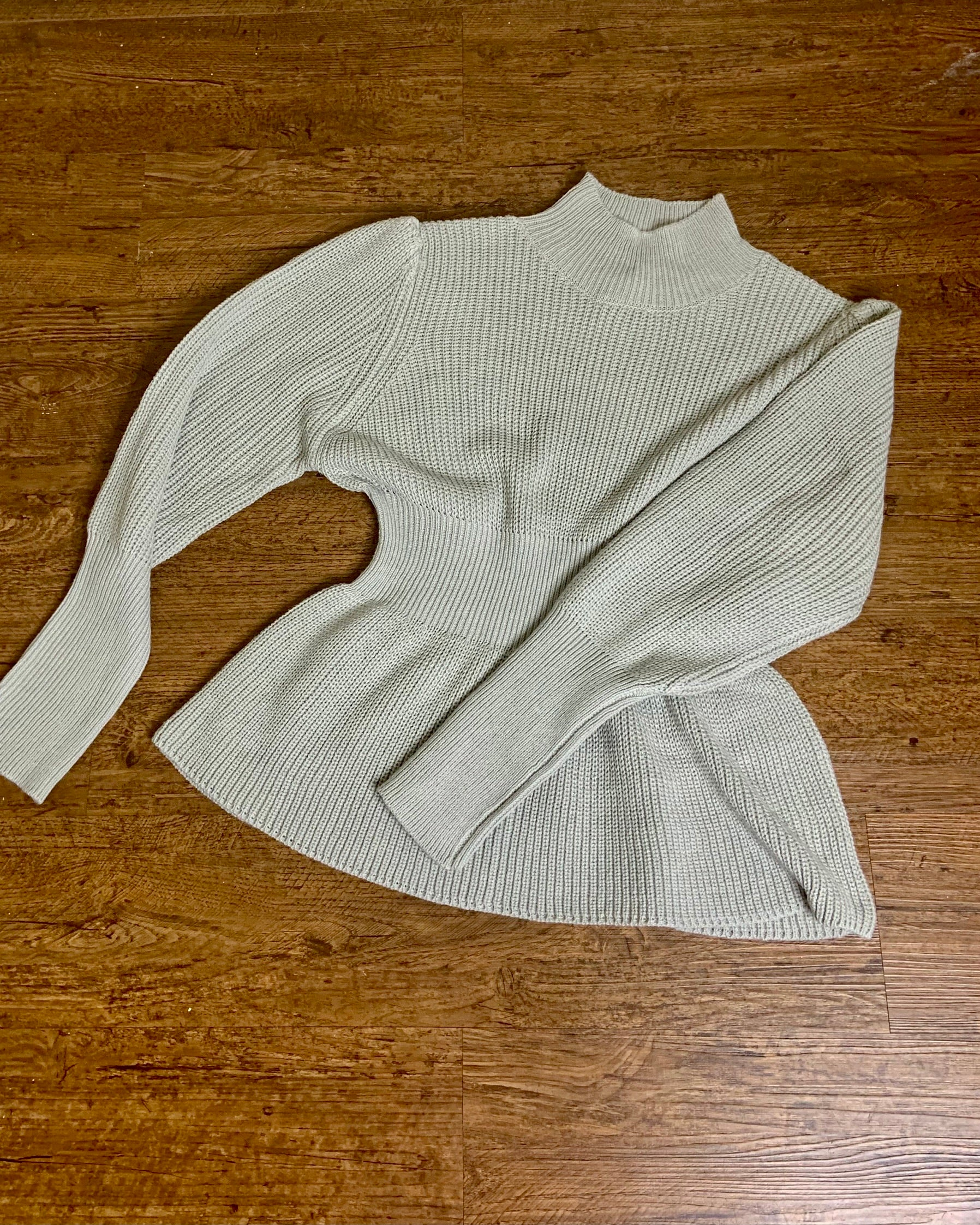 Basic High Neck Sweater