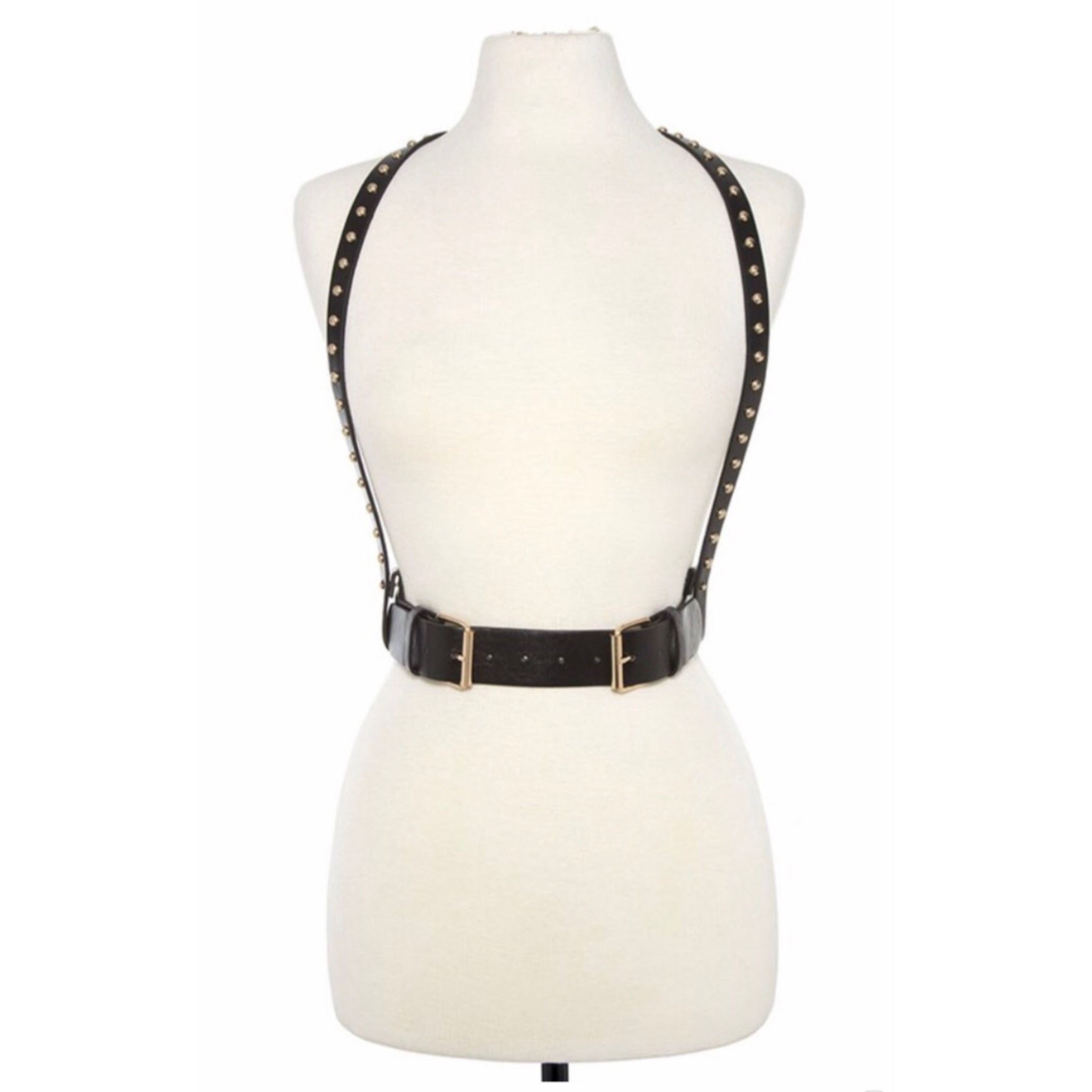 Kaylee Black Underbust Buckle Belt