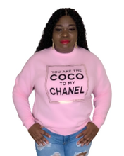 Load image into Gallery viewer, Sweet Coco Sweatshirt