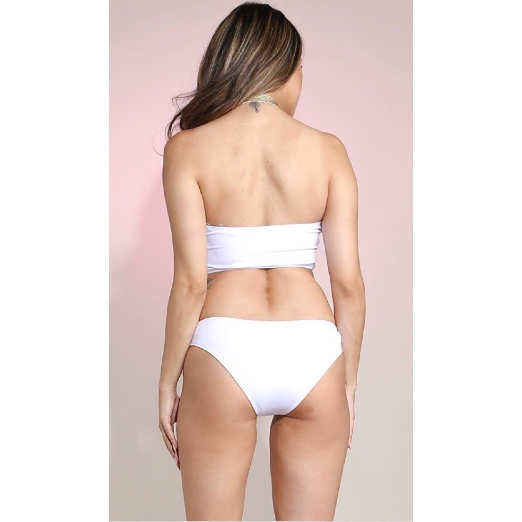 Bali White One Piece Swimsuit