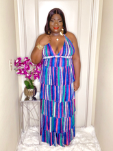 Load image into Gallery viewer, Donna 5-Tier Maxi Dress