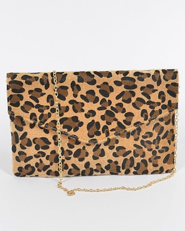 Safari Envelope Clutch Bag