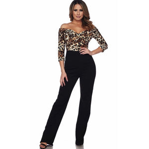 Alexa Animal Print Jumpsuit