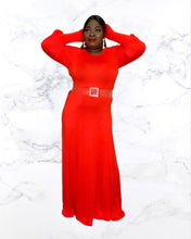 Load image into Gallery viewer, Maxine Puff Sleeve Maxi Dress