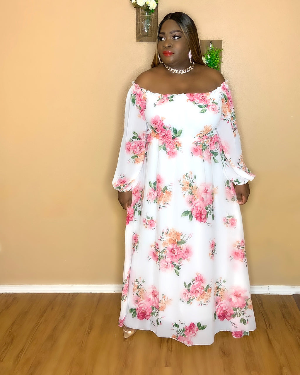 Let's Brunch Maxi Dress