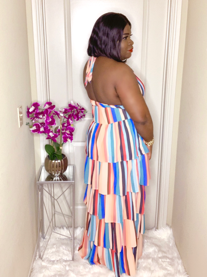Sam 5-Tier Maxi Dress