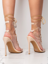 Load image into Gallery viewer, Dazed Nude Rope Heels