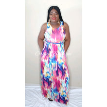 Load image into Gallery viewer, India Multicolor Maxi Dress - Orchid Boutique