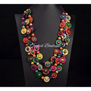Jalisa Caribbean Vibes Necklace - Orchid Boutique