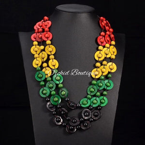 Jamerican Caribe Necklace - Orchid Boutique