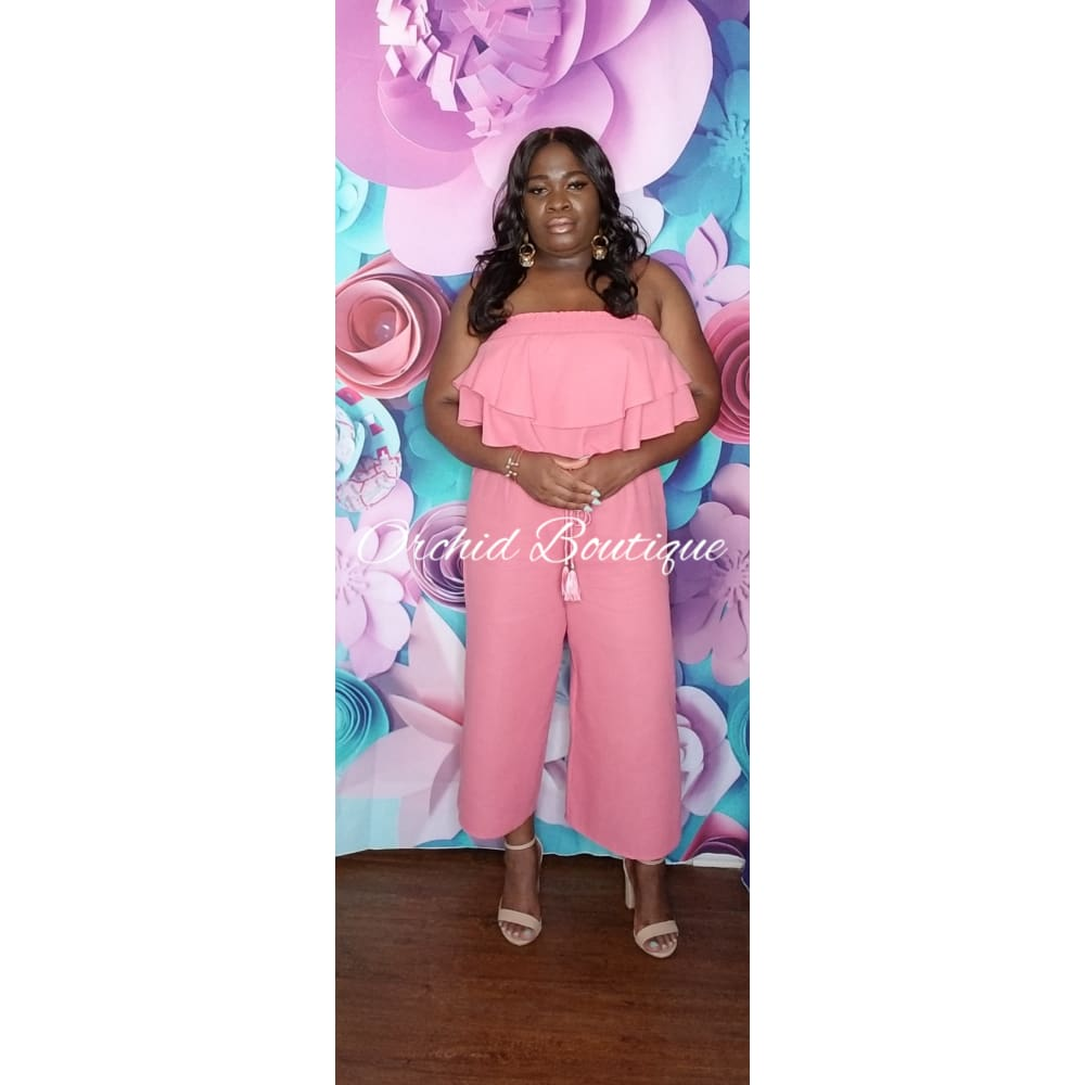 Lily Pink Pant Set - Orchid Boutique