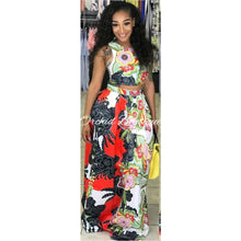 Load image into Gallery viewer, Miranda Multi Flower Skirt Set - Orchid Boutique