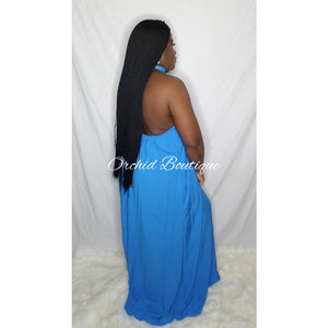 Olivia Open Back Maxi Dress - Orchid Boutique