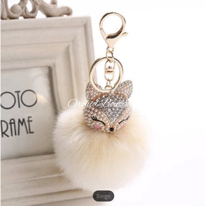 Rabbit Key Chain Keychain