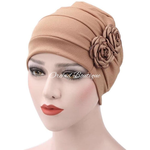Rose Cafe Slip On Turban Turban