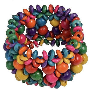 Shelly Caribbean Multicolored Bracelet Bracelet
