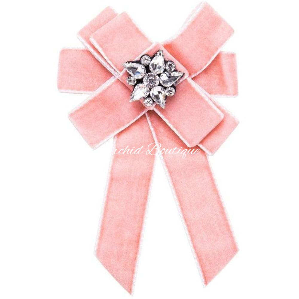 Spring Brooch Bow Ribbon Brooch