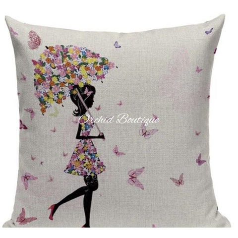 Umbrella Throw Pillow Cover Throw Pillow Covers