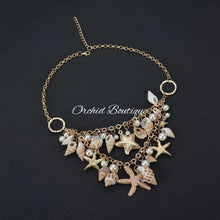 Load image into Gallery viewer, Uribe Sea Shells Necklace Jewelry