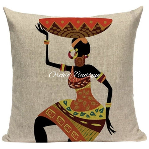 Woman Throw Pillow Cover Throw Pillow Covers