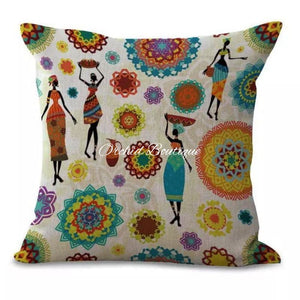 Women Throw Pillow Cover Throw Pillow Cover