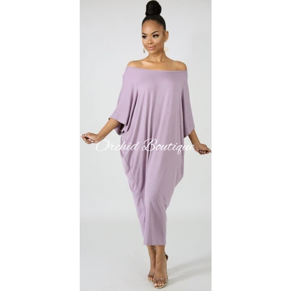 Zara Lavender Midi Dress Dresses