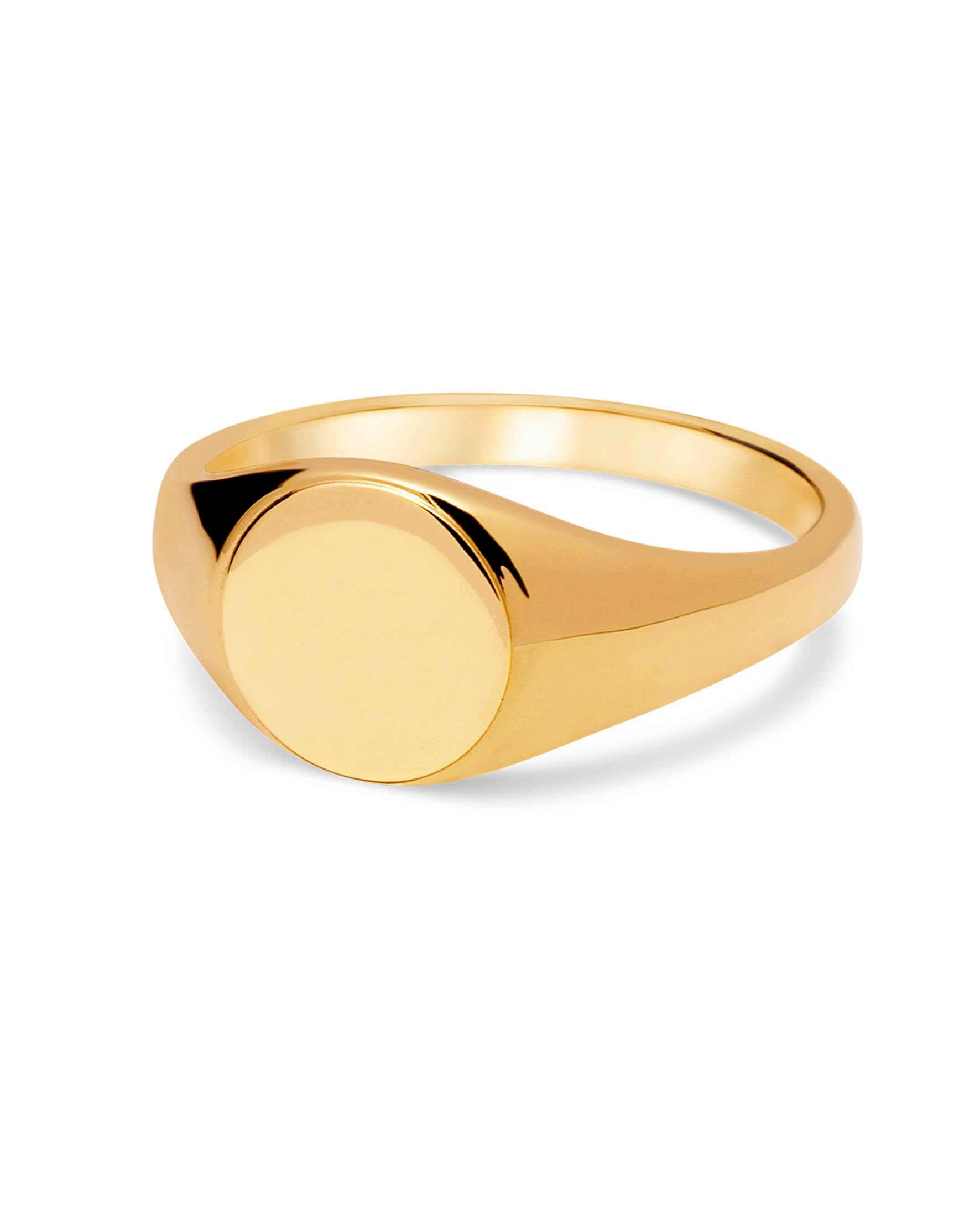 DIRUT RING GOLD PLATED