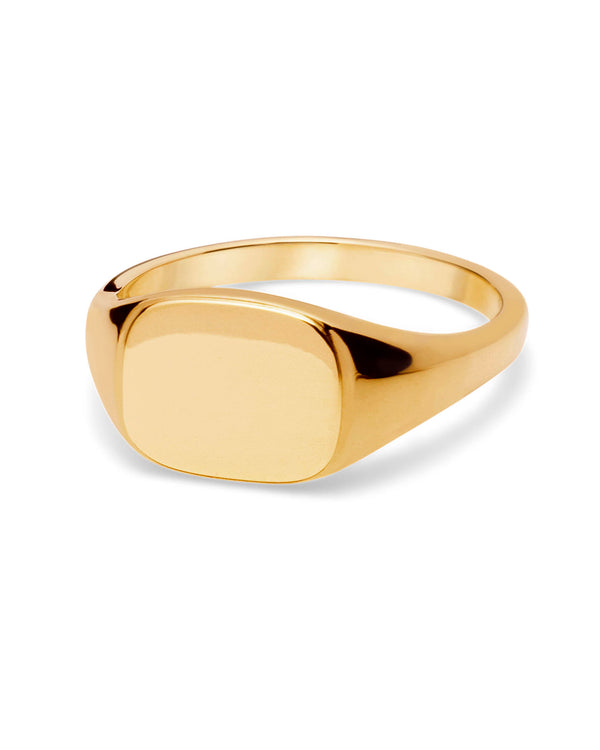 ENRA RING GOLD PLATED