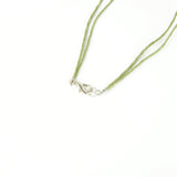Essential Oil Diffuser Necklace - Olive Green