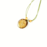 Essential Oil Diffuser Necklace - Beige