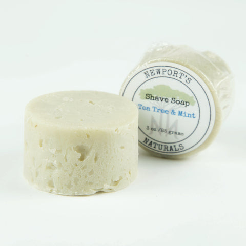 Shave Soap - Tea Tree & Mint