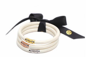 Ivory Three Kings All Weather Bangles