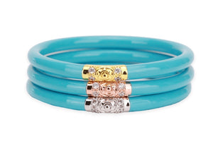Turquoise All Weather Buddha Bangles