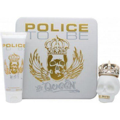 Police To Be Queen (75ml EDT/100ml BL) Women Giftset - Penny Store Limited