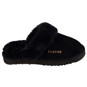 Firetrap Suede Mule Slippers Ladies - Penny Store Limited