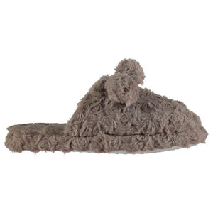 Rock and Rags Pom Pom Mule Lds 74 - Penny Store Limited