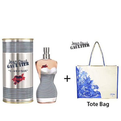 JPG In Love 100ml EDT Women Spray + Blue Tote Bag Exclusive Gift Set - Penny Store Limited