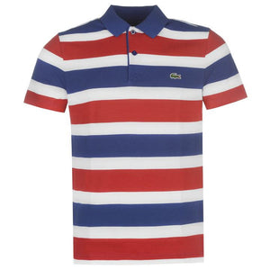 Lacoste Stripe Polo Shirt - Penny Store Limited