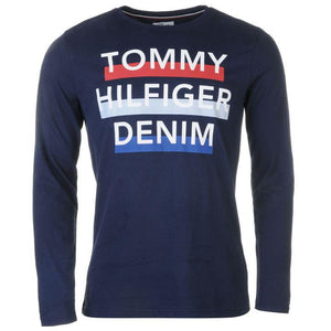 Tommy Jeans Long Sleeve T Shirt - Penny Store Limited