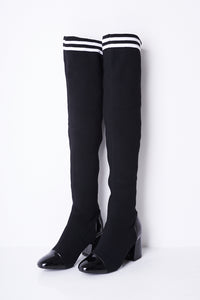 OVER THE KNEE STRETCH SOCK BOOTS - Penny Store Limited