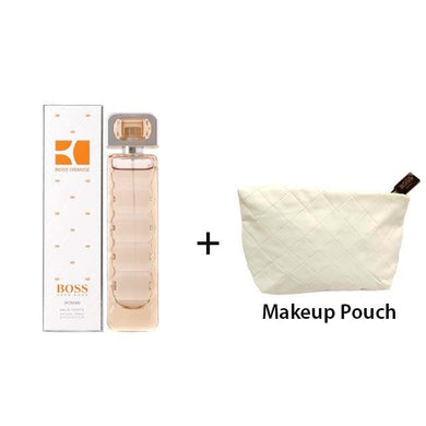 Hugo Boss Orange 75ml EDT Women Spray + Makeup Pouch Exclusive Gift Set - Penny Store Limited