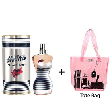 JPG In Love 100ml EDT Women Spray + Pink Tote Bag Exclusive Gift Set - Penny Store Limited