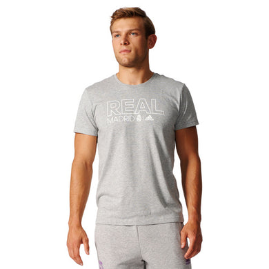 ADIDAS MENS REAL MADRID CO T-SHIRT 5 for £75 - Penny Store Limited