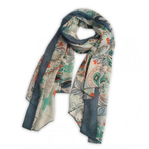 LADIES LARGE SOFT SCARF WRAP BUTTERFLY SCARVES SHAWL - Penny Store Limited