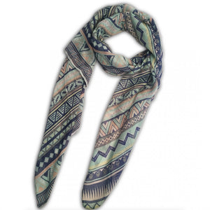 LADIES LARGE SOFT SCARF WRAP BOHEMIAN SCARVES SHAWL - Penny Store Limited