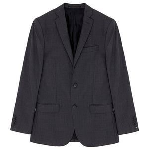 Mick New Grey Melange Wool Jacket - Penny Store Limited