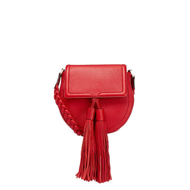 a33f24aaf REBECCA MINKOFF Red Isobel Saddle Bag - Penny Store Limited